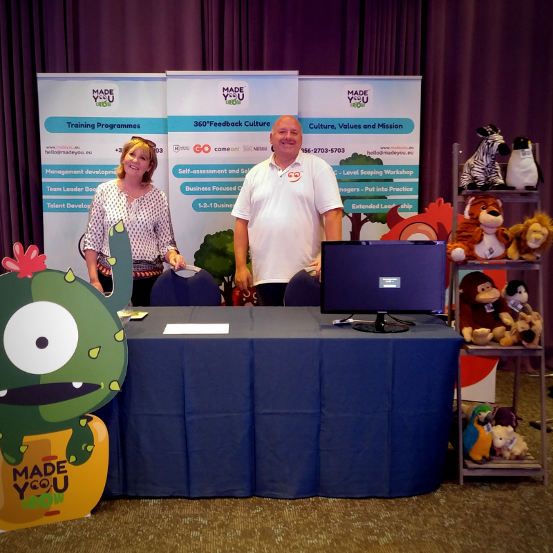 richard, sue, conference, convention, stall, fhrd